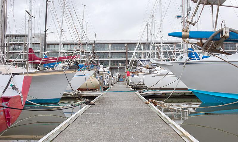 Chaffers Marina contractors